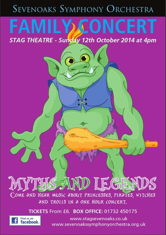 Family Concert: Myths and Legends